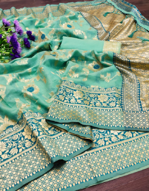 rama chanderi cotton silk fabric weaving jacqaurd work wedding