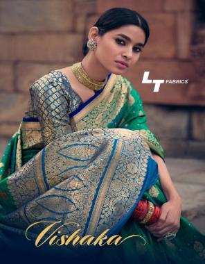 rama tussar silk  fabric weaving work wedding