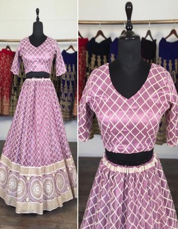 light pink lehenga -net embroidery |inner -satin silk |dupatta -net embroidery |blouse -net embroidery |waist -44|length 42+ |flair -2.40m |type -semi stitched fabric embroidery work wedding