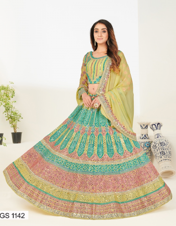 parrot heavy 60gm georgette |size -upto 44 waist bust |type -semi stitched fabric foil mirror thred zari  work casual