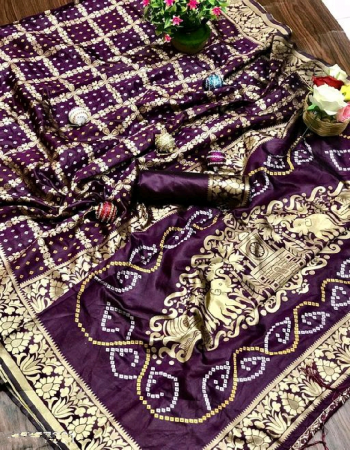 wine soft lichi silk fabric weaving jacqaurd work wedding