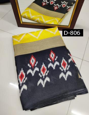 yellow cotton silk fabric weaving  work ethnic