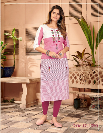 pink pure khadi lining weaving work length 48 fabric embroidery work ethnic