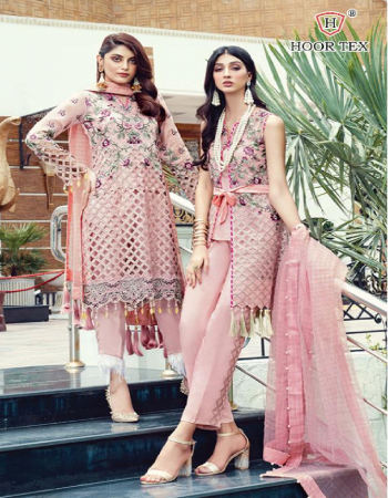 pink top -heavy georgette |bottom + inner -santoon |dupatta -chanderi square fabric embroidery work running