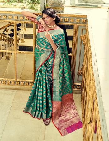 green soft zari weaving silk patola fabric weaving jacqaurd work festive