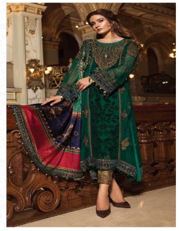 green top -georgette embroidery |bottom -heavy santoon |dupatta -tabby silk fabric embroidery work casual