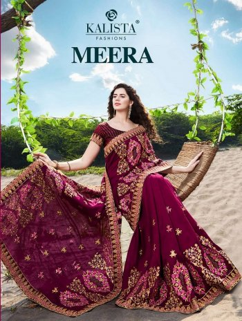 maroon vichtra silk fabric embroidery work wedding