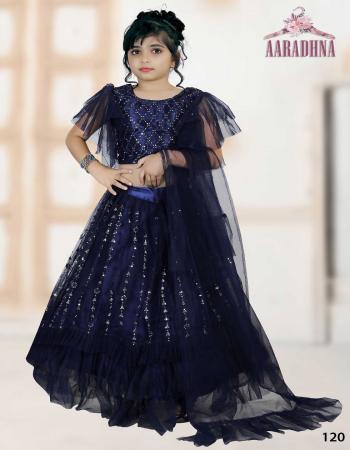 navy blue lehenga febric - net | blouse febric - net | dupatta - plain work | work - designer embroidery with stylish pattern | 24 ( 5-7 s) | 28 ( 8-10 year m) | 32 ( 11-13 year l) | 36 ( 14-16 year xl ) | length - 26 ( 5 - 7 year ) | 30 ( 8 - 10 year ) | 34  ( 11 - 13 year ) | 38 ( 14 - 16 year ) fabric embroidery work casual