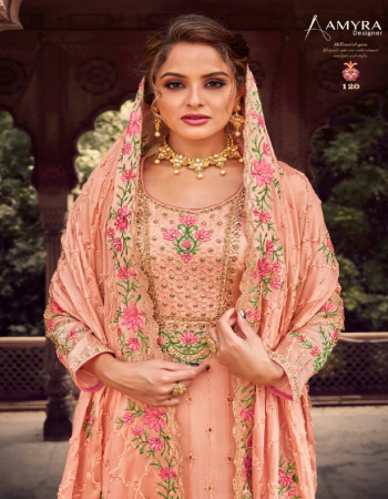 pink top - pure viscose chinon with heavy exclusive embroidery with fancy diamond & tiki work | dupatta - heavy chinon with heavy embroidery and diamond tiki work  | bottom - inner - dull santoon fabric embroidery + diamond work work ethnic