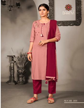 pink top - rayon slub with handwork | pant fabric - cotton slub | dupatta - chanderi silk 2.25 m two side with lace fabric hand work work casual