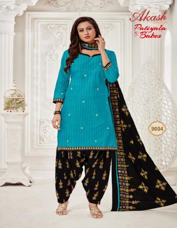 sky blue pure cotton | top - 2.0 m | bottom - 2 .0 m | dupatta - 2.0 m fabric printed work casual