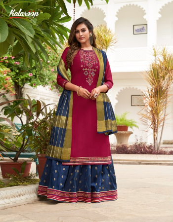 dark pink top - lining silk with fancy neck work and fancy less with cotton mal inner | lehenga - fancy silk jacquard with embroidery work and fancy less | dupatta - cotton silk with zari border  fabric embroidery work casual
