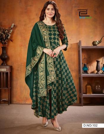 dark green rayon  fabric jacquard work casual