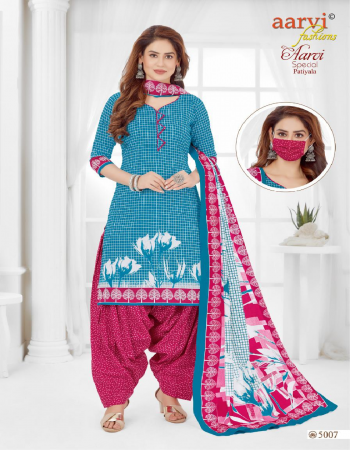 sky blue pure cotton fabric printed work casual