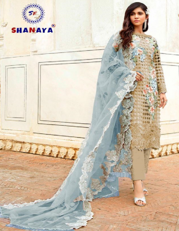green top - heavy butterfly net ( with heavy embroidery & cut work & handwork ) | inner - santoon | bottom - santoon | dupatta - heavy butterfly net with fancy lace [ pakistani copy ] fabric heavy embroidery work ethnic