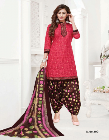 pink pure cotton | top - 2 m | bottom - 2.0 m | dupatta - 2.0 m fabric printed work casual
