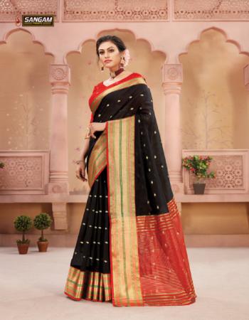 black handloom silk fabric weaving  work casual