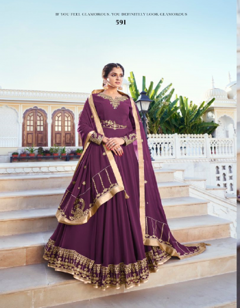 wine top - heavy for bluming with additional designer style | bottom pent style - heavy daul santoon | dupatta - bluming fox with work fabric embroidery work casual