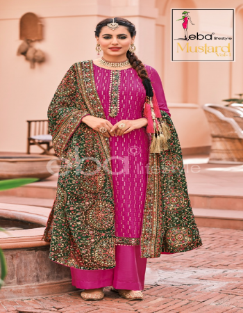 pink top - faux georgette with heavy embroidery work | dupatta - faux georgette with heavy embroidery work | bottom & inner - santoon fabric heavy embroidery work festive