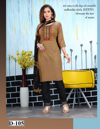 brown lurex rayon two tone lurex embroidery | dupatta - namin  fabric embroidery work casual