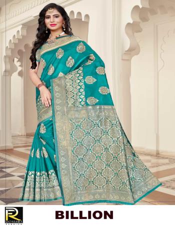 sky blue silk  fabric jacquard + weaving work casual
