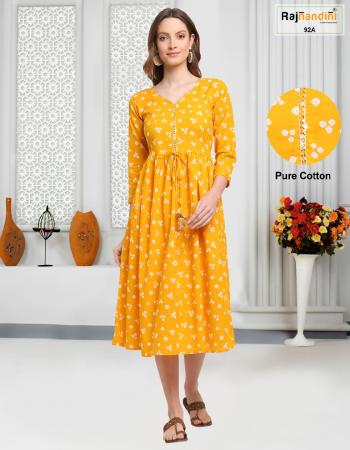 yellow pure cotton jaipuri printed fabric print  work festive
