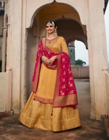 yellow top - bsy barfi fabric   bottom & inner - silk jacquard   dupatta - double zari dola silk fabric embroidery work casual