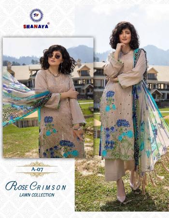 peach top -  cambric cotton ( heavy boring embroidery work ) | bottom - semi lawn | dupatta - pure silver ciffon digital print [ pakistani copy ] fabric embroidery work casual