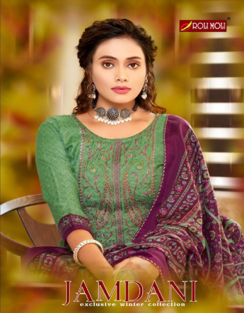 green top - pashmina jacquard designer print with exclusive embroidery work ( 2.50 m) | bottom - heavy pashmina spun ( 3.00 m approx) | dupatta - twill pashmina shwal printed ( 2.25m) fabric embroidery  work casual