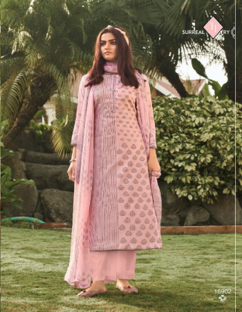 pink top - pure lawn cameric | bottom - pure lawn | dupatta - chiffon 100% fabric printed work party wear