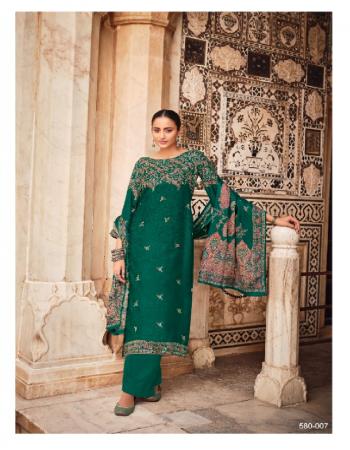 green top - 100% pure pashmina with exclusive designer kaani prints ( 2.50 m) | dupatta - 100% pure pashmina shawl exclusive kaani box pallu print with 4 side lace ( 2.30 m) | bottom - pure pashmina spun ( 3 m) fabric printed work festive