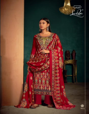 maroon top - pure pashmina kani print ( 2.50 m) | dupatta - pure pashmina shawl printed excellent premium quallity ( 2.30 m) | bottom - spun pashmina ( 3.00 m)  fabric kani print work casual