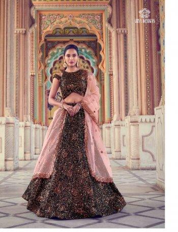 maroon soft net fabric sequins work festive