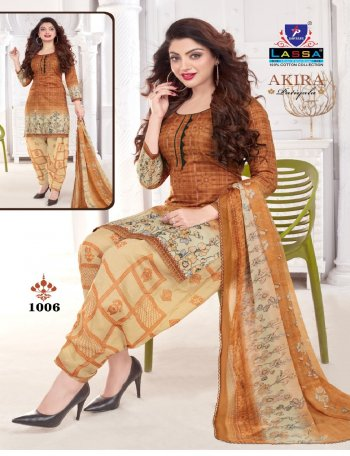 light brown cotton fabric printed cotton work running