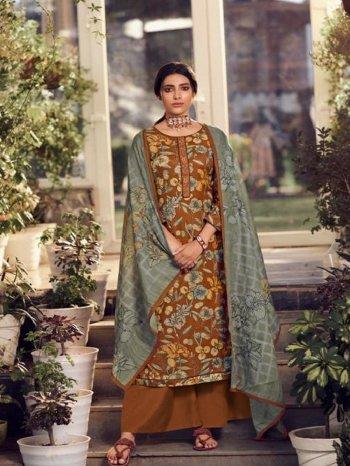musterd pure pashmina fabric digital print work festival