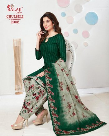 green pure cotton fabric printed work casual