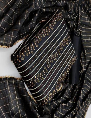 black top - cotton | bottom - heavy indo 2m | dupatta - chanderi 2.10m fabric embroidery handwork work wedding