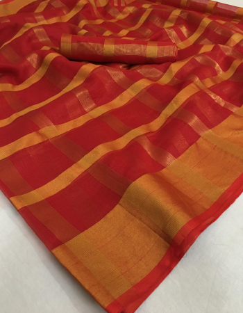 red soft cotton silk kota doriya fabric jkota doria work festive