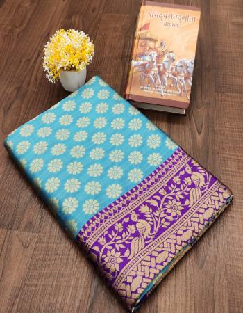 sky kanchipuram silk fabric weaving jacqaurd  work casual