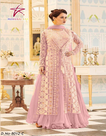 light pink  top - heavy georgette |bottom + inner - santoon | dupatta - net | size - 44+ (xxl) | length - 57 | type - semi stitch fabric embroidery work casual