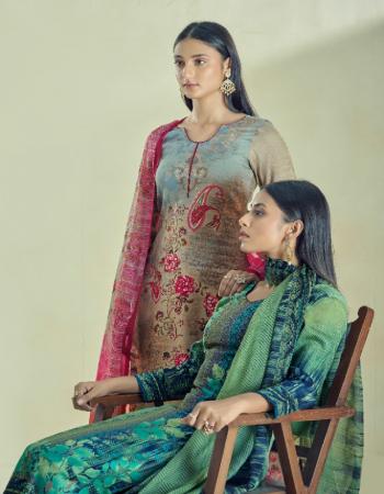 pista top - satin cotton 2.50m |bottom - satin cotton 2.50m | dupatta - chiffon 2.25m fabric printed work party wear