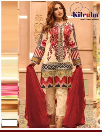 red top - lawn cotton | bottom - semi lawn |dupatta - chiffon digital print |type -semi stitch | size - fit upto 56  fabric digital print work ethnic