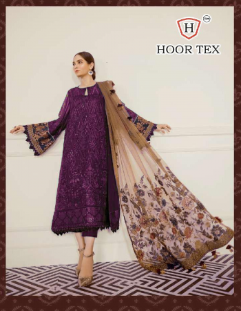 wine top -georgette |bottom + inner -santoon |dupatta - heavy net |size -56(8xl) | type -semi stitched fabric embroidery  work ethnic