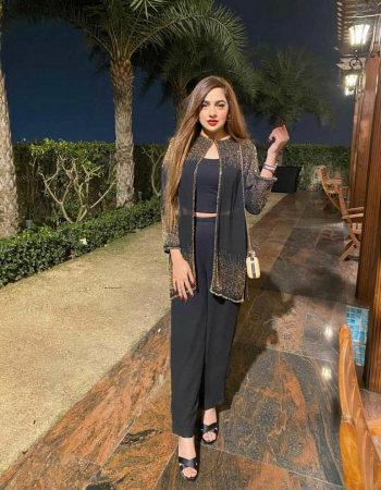 black top -georgette with seqeunce work full stitched with full sleeve top size upto44 |blouse -heavy american crepe full stitched free size upto 44|palazzo -heavy american crepe full stitched | type -full stitched  fabric seqeunce work running