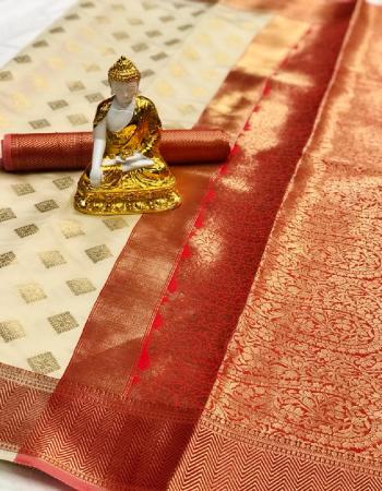 white red pure lichi silk fabric weaving jacqaurd  work running