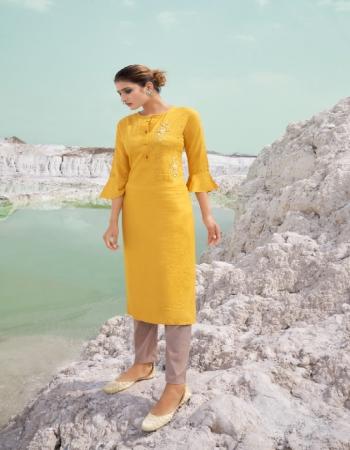 yellow fancy heavy rayon with fancy khatli work fabric khatli work work ethnic