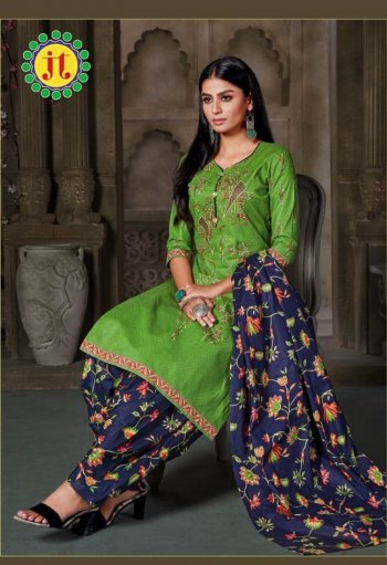 parrot pure cotton fabric print work casual