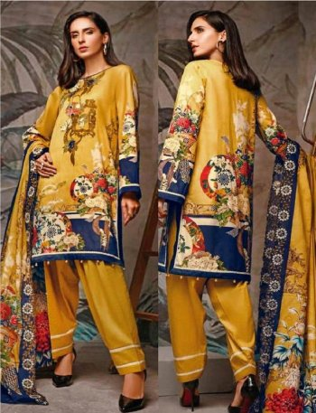mustard yellow pure cotton fabric embroidery work casual