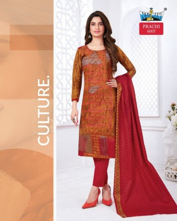 red pure cotton fabric print work casual