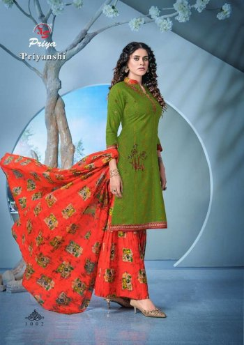 apple green pure cotton fabric print work casual